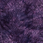 Catching Dreams 121907480 Bush Purple, Island Batiks