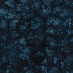 Prairie Skies 121909591 Animal Tracks Blue Island Batiks