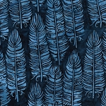 Prairie Skies 121921585 Vertical Feather Navy Island Batiks