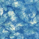 Prairie Skies 121922521 Tossed Feathers Harbor Blue Island Batiks