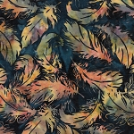 Sundance Batik 121922844 Tossed Feather Light Dust Island Batik