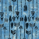 Prairie Skies 121923511 Arrows Cloud Island Batiks