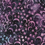 Catching Dreams 121924486 Star Dark Iris,  Island Batiks
