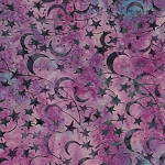 Catching Dreams 121924885 Star Mixed Berry, Island Batiks