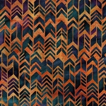 Sundance Batik 121926281 Geo Arrow Copper Island Batik