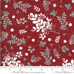 Juniper Frost 13200 13 Red Holly Sprigs Kate and Birdie Moda