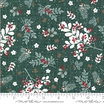 Juniper Frost 13200 17 Green Holly Sprigs Kate and Birdie Moda