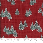 Juniper Frost 13202 13 Red Trees Kate and Birdie Moda