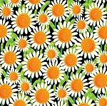 Busy Bees 1415 99 Sunflowers Black, Henry Glass