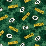 NFL Football Green Bay Packers Flannel