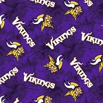 NFL Football Minnesota Vikings 14933 D Flannel
