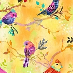 Bright Birds Digital 14992 Yellow Birds, 3 Wishes