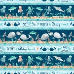 Whaley Loved 17052 489 Border Print Wilmington Prints