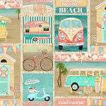 Beach Travel 17338 Multi Patch 3 Wishes