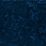 Hoffman Bali Batik 1895 682 Deep Blue Hand dyed Watercolors