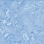 Hoffman Bali Batik 1895 707 Powder Blue Hlue dyed Watercolors