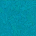 Hoffman Bali Batik 1895 709 Aquamarine Hqua dyed Watercolors