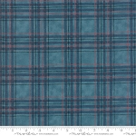 Explore Brushed 19913 13B Blue Plaid, Deb Strain by Moda