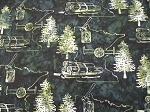 F2106 Green Minnesota Custom Batik 5 Yard Bundle, Hoffman