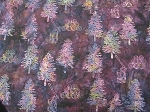 F2107 Purple Tree Custom Minnesota Batik, Hoffman