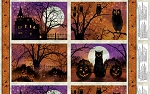 Frightful Night 20502 986 Placemant Panel Wilmington Prints
