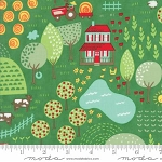 Farm Fun 20531 15 Grass Farm Scene, Stacy Hsu by Moda