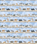 Noah's Ark 21500 42 Animal Border, Northcott
