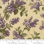 Lilac Ridge 2211 11 Cream Lilac Bush, Jan Patek by Moda