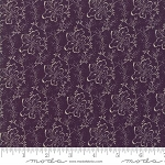 Lilac Ridge 2214 16 Purple Etched Leaves, Jan Patek by Moda