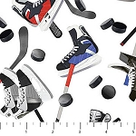 All Star Hockey 22582 10 White, Northcott
