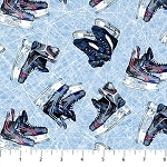 Power Play Hockey 23623 42 Blue Skates, Northcott