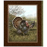 Bountiful Blessing 24513 G Turkey Panel, Quilting Treasures