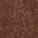 Harmony Curly Scroll 24778 A Sable Quilting Treasures