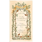 Serenity Prayer 25824 E Panel Cream, Quilting Treasures
