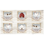 Farm Life 27676 E Picture Patches Natural Quilting Treasures