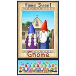 Home Sweet Gnome 28241 X Gnome Couple Panel Quilting Treasures