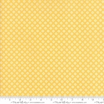 Pepper and Flax 29045 26 Lacy Polka Dot Yellow, Corey Yoder by Moda