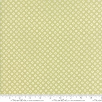 Pepper and Flax 29045 27 Lacy Polka Dot Light Green, Corey Yoder by Moda