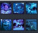Dragons Digital Blue Fury 2 DRG 2 Panel Squares, In the Beginning