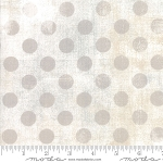 Grunge Hits the Spot 30149 11 White Paper, Basic Grey by Moda