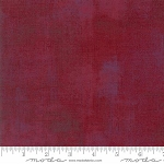 Grunge Basics New 30150 334 Beet Red, Basic Grey by Moda
