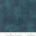 Basic Grey Grunge 30150 487 Deep Teal, Basic Grey by Moda