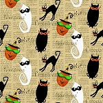 Cheeky Wee Pumpkins 3270 44 Allover Halloween Print, Studio E