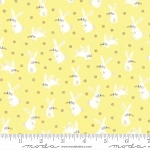 Sweet Baby Flannel 35282 15F Bunnies Yellow, Abi Hall by Moda