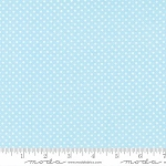 Sweet Baby Flannel 35285 13F Mini Dot Blue, Abi Hall by Moda