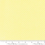 Sweet Baby Flannel 35285 15F Mini Dot Yellow, Abi Hall by Moda