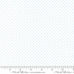 Sweet Baby Flannel 35285 22F Mini Dot Blue White, Abi Hall by Moda