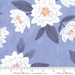 Twilight 36030 12 Sky Large Floral, One Canoe Two by Moda