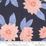 Twilight 36030 15 Midnight Large Floral, One Canoe Two by Moda