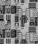 Super Heroes 3872 99 City Scene Black White, Studio E